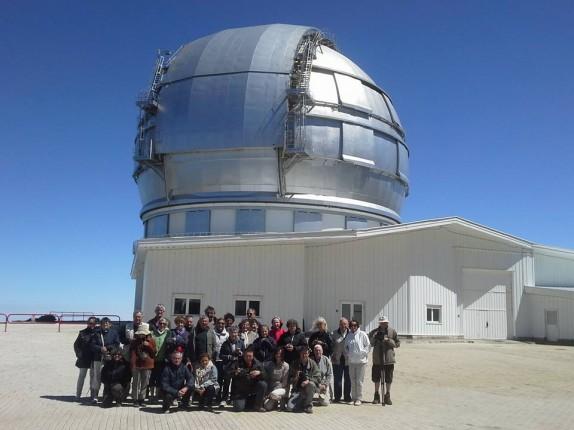 GranTeCan Association française d'astronomie aux Canaries