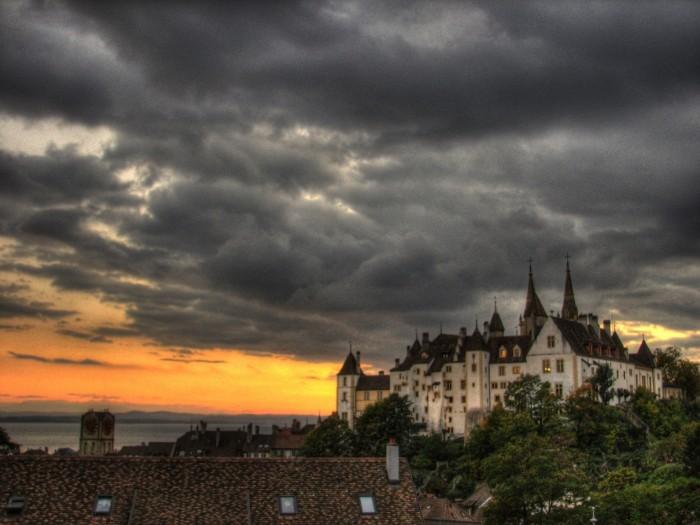 Château de Neuchâtel, siège du gouvernement cantonal