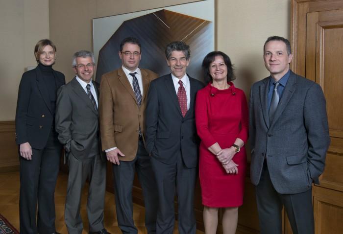 Conseil d'Etat neuchâtelois 2012 - 2013
