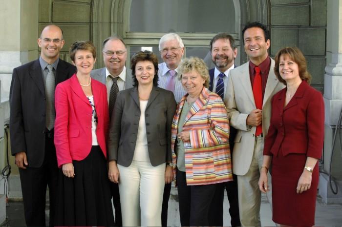 Groupe socialiste au Conseil des Etats 2003 - 2007